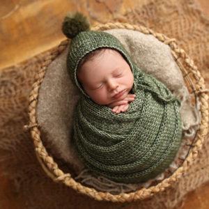 wrap y gorrito miha crochet 35