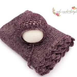 Atrezzo fotografianewborn e infantil miha crochet